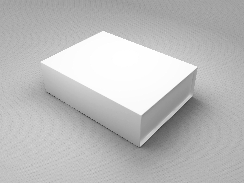 两款白色盒子包装展示样机 - 包装样机 - 云米创意-让