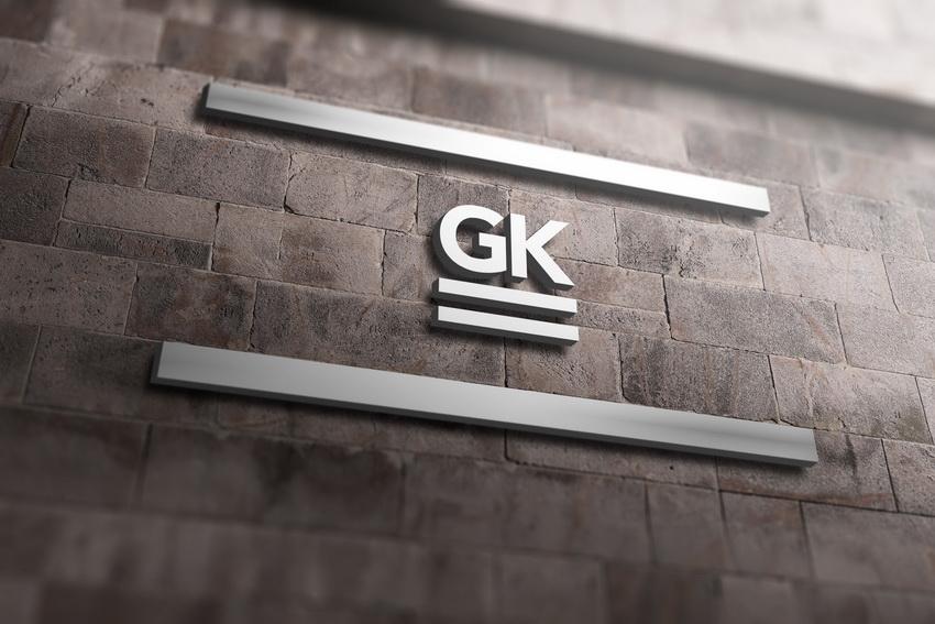 户外公司墙logo标志展示样机