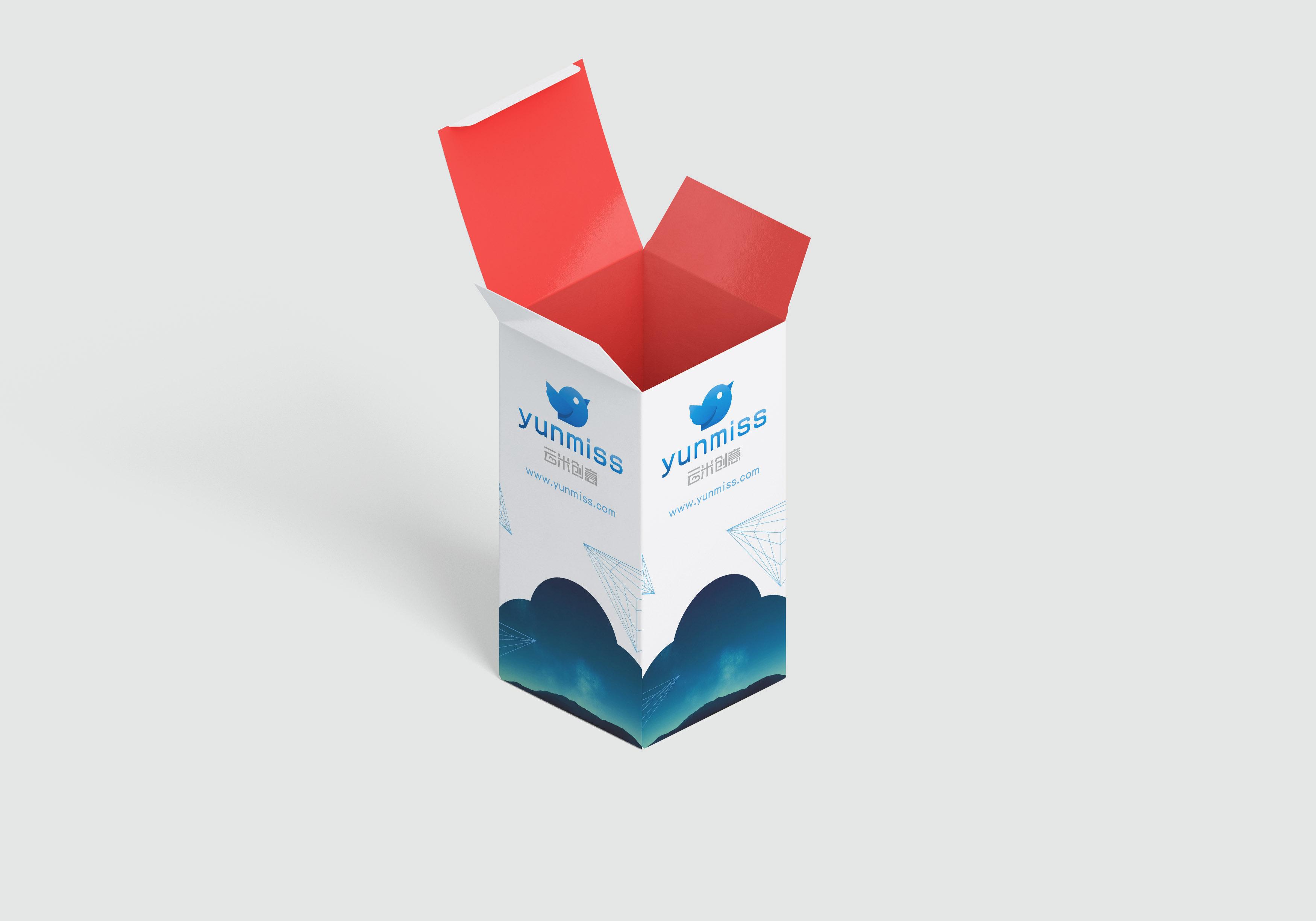 立体包装盒展示样机